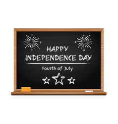 Independence day design fourth of july vector