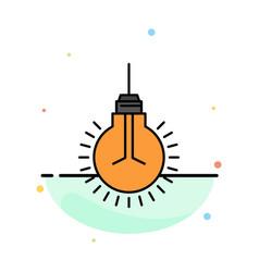 Light bulb idea tips suggestion abstract flat vector