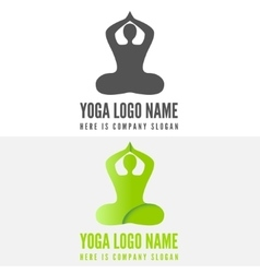 Logo badge label logotype elements with pose vector
