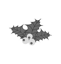 Mistletoe icon vector