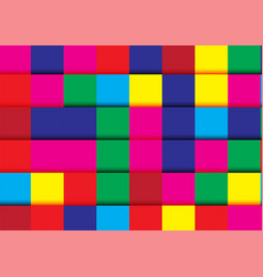 modern abstract background in colorful color vector image