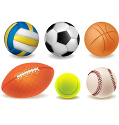 Set of balls vector