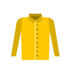 Shirt icon flat style vector