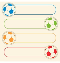 football button graphic vector image