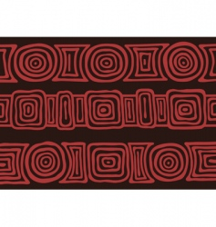 Australian pattern vector