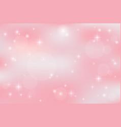 Galaxy fantasy background with pastel color vector