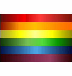 grunge gay pride flag vector image
