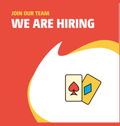 Join our team busienss company poker we are vector