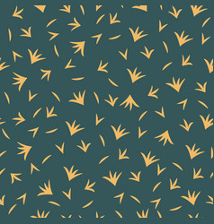 seamless pattern with simple abstract shapes vector image