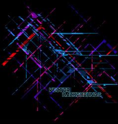 Translucent colors shapes concepts on a black vector
