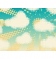fair weather vector image vector image