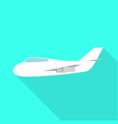 Aeroplane and air sign vector