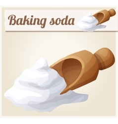 Baking soda Detailed Icon vector