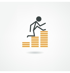 business icon vector image