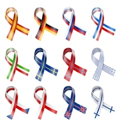 Flag Ribbon vector image