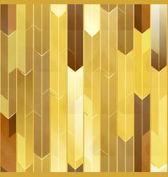 gold mosaic seamless texture vector image