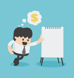 Plans to make money vector
