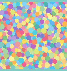 seamless mottled circle print vector image