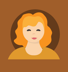 Young handsome women with various hairstyle vector