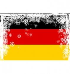 german snow vector image