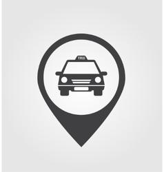 Taxi pointer vector image