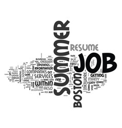 what you need to do to get that job text word vector image vector image