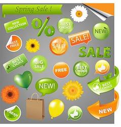 Spring Sale vector image vector image