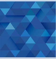 Abstract blue tone geometric layout template vector