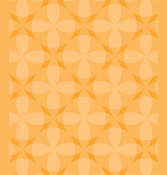 abstract circles orange pattern background vector image
