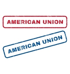American Union Rubber Stamps vector