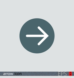 Arrow icon vector image