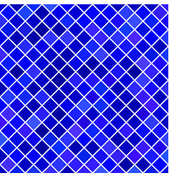 Blue square pattern background - vector