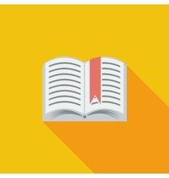 Book Single icon vector image