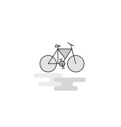 cycle web icon flat line filled gray icon vector image