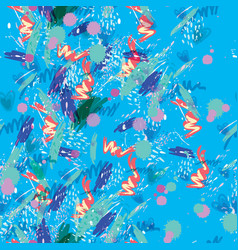 Hand-painted abstract watercolor background vector