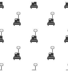 Libra icon in black style isolated on white vector