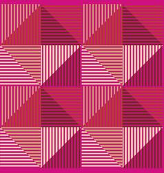 square polygon vector image
