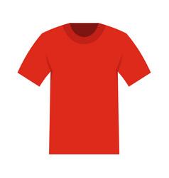 tshirt icon flat style vector image vector image