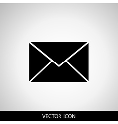 Envelope Icon Mail symbol for your web site vector image