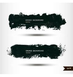 Splash banners Watercolor background Grunge vector image