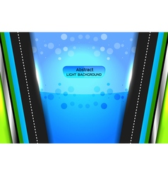 Abstract light background blue vector