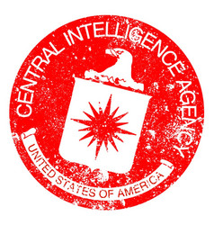Cia rubber stamp vector