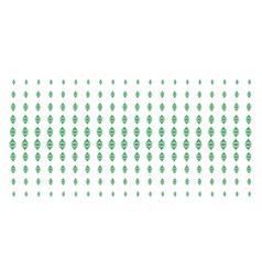 Ethereum classic shape halftone grid vector