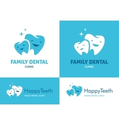 Family dental clinic vector