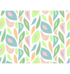 Foliage pattern seamless modern background vector