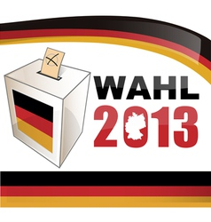 GERMAN ELECTIONS vector