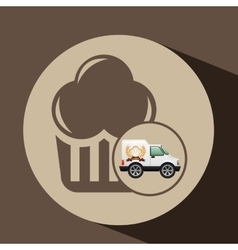 Transport of muffins vector