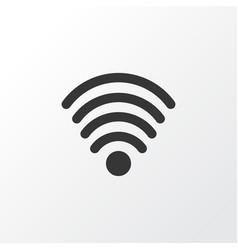 wifi icon symbol premium quality isolated vector image