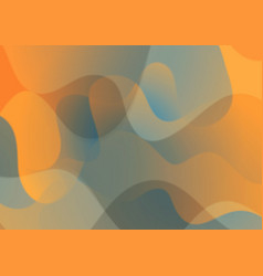 Abstract wavy corporate pattern background vector