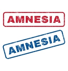 Amnesia Rubber Stamps vector